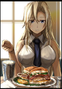 「Hornet Heart Attack sandwichはどうかしら?」
