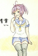 青葉さんとお絵描き練習2