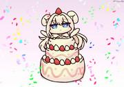 進水日記念ケーキ