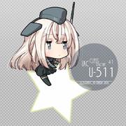 「U-511(艦これ)」おちゃめ機能版