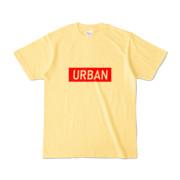 Tシャツ ライトイエロー S_URBAN