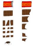 品薄のお菓子の材料屋さんにありそうなチョコ