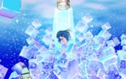 MMD 「眠り姫 cold sleep」MikuMikuDance