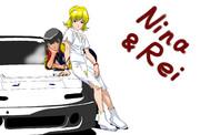 エクスドライバーのニナ&レイ