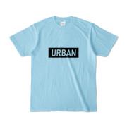 Tシャツ ライトブルー S_URBAN