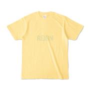 Tシャツ ライトイエロー REIGN_2color
