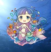 人魚な七海ちゃん