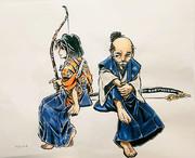 ゴーストオブツシマ_石川先生と巴