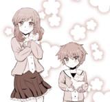 『ほっこりお姉さん と ツンデレ弟』ラクガキ