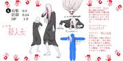 殺人女(あやとめ)  #コンパスヒーローデザインコンテスト