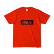 Tシャツ レッド S_URBAN