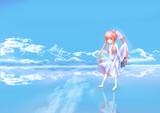 ウユニ塩湖とヒューマノイド
