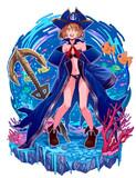 ゲーム風キャラクターイラスト『海賊』