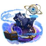 ゲーム風キャラクターイラスト『梟』