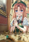 咲夜さんにだけどうしてもチェスが勝てない美鈴
