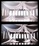 ドレープカーテンの部屋【ステージ配布】