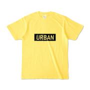 Tシャツ イエロー S_URBAN