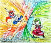 メイドロイド vs フラワーマスター