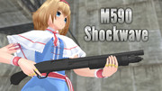 【MMD銃火器】Mossberg590Shockwave【配布】