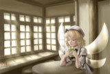 ワンドロ300話記念リクエスト絵(ルナ茶)