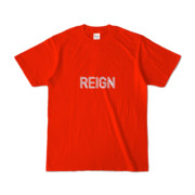 Tシャツ レッド REIGN_2color