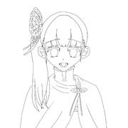 カナヲ線画
