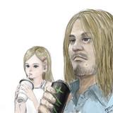 ドラマーの父親とその娘