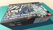 ガンダム試作2号機 サイサリス / 16色ドット絵ガンプラ箱絵風3D