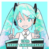 13th HAPPY ANNIVERSARY MIKU!!