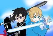 世界を救う2つの剣 キリト&ユージオ