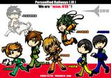 team.N'EX(同人誌内の口絵版)