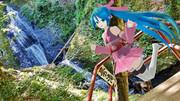 阿寺の七滝②