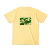 Tシャツ   ライトイエロー   NEW_YORK_GARDEN