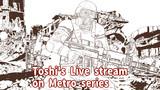 生放送で利用したメトロシリーズのイラスト(初期ラフ)