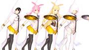 【Fate/MMD】ワルキューレ3姉妹+量産型【モデル配布】