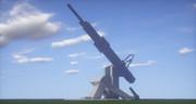 120cm対地対空両用磁気火薬複合加速方式半自動固定砲