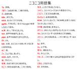 ニコニコ用語集