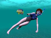 蒼星石ダイビング