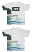 Tシャツ フルグラフィック 1993年の海