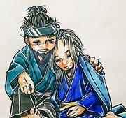 ゴーストオブツシマ_安達夫妻