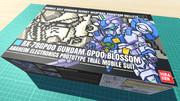 ガンダム試作0号機 ブロッサム / 16色ドット絵ガンプラ箱絵風3D