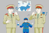 ロシアのネコ牛乳