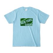 Tシャツ   ライトブルー   NEW_YORK_GARDEN