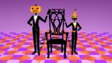 椅子と使用人【MMDアクセサリ&モデル配布】