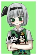 グーフィー好きESKちゃん