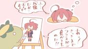 絵描きの1時間=彼女の一瞬