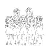【描画】《自由自在的天使们×3》2