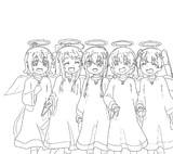 【描画】《自由自在的天使们×3》03
