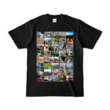 Tシャツ ブラック Forty_7_Colors