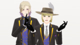 【MMDツイステ】ルークとヴィル【MMDモデル更新】